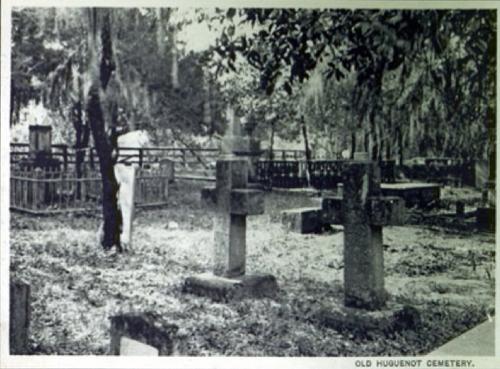 Cemetery circa 1909