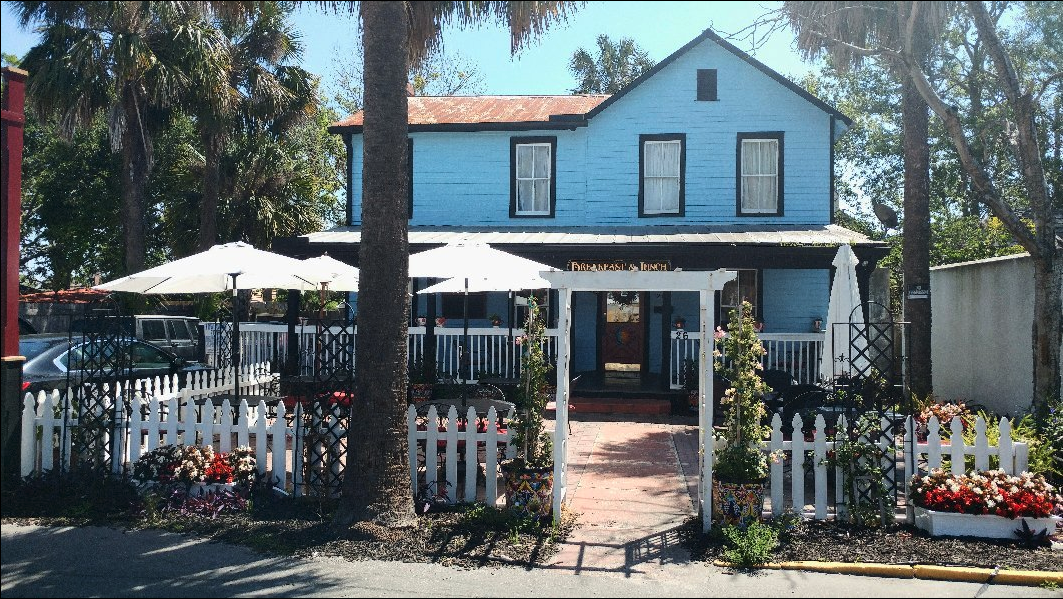 Sun and Moon Cafe, St. Augustine The most haunted place you can get eggs!