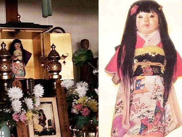 Okiku, The Japanese Haunted Doll that puts Chucky to shame - Photo